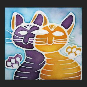 Purrfect Pals Notecard