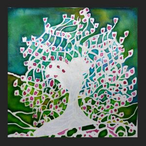 Tulip Tree Notecard